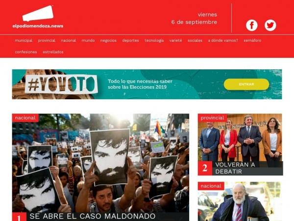 elpodiomendoza.news