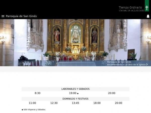 parroquiasangines.es